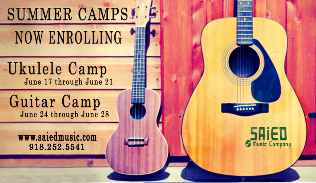 Summer Camp 2019 Sign Up Saied Music Company
