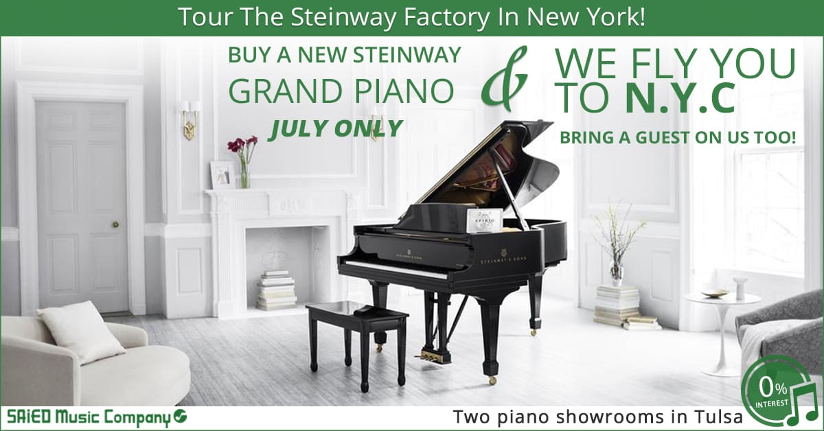 Tour The Steinway Factory in New York City On Us!